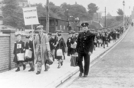 evacuees to bournemouth
