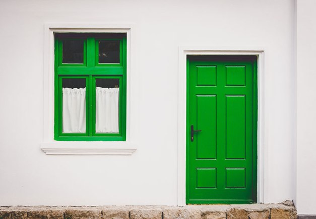The Family Within the Green Door