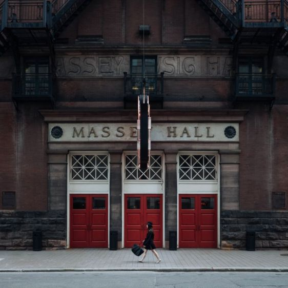 Massey Hall Doors Toronto